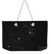 Orions Belt, Horsehead Nebula And Flame Weekender Tote Bag by Luis Argerich