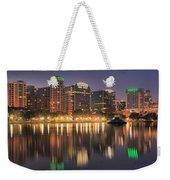 Orlando Sunrise Panorama Weekender Tote Bag