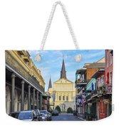 Orleans Street And St Louis Cathedral Weekender Tote Bag