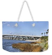 Ormond Beach Bridge Weekender Tote Bag
