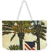 Ormond Beach Patriotic Weekender Tote Bag