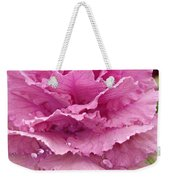 Ornamental Cabbage Weekender Tote Bag