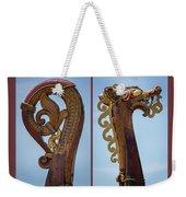 Ornamental Dragon Diptych Weekender Tote Bag