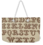 Ornamental Weekender Tote Bag