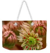 Ornamental Flower Weekender Tote Bag
