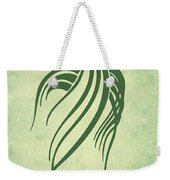 Ornamental Parrot Minimalism Weekender Tote Bag