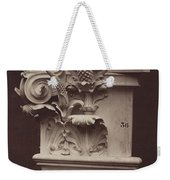 Ornamental Sculpture From The Paris Opera House (column Detail) Weekender Tote Bag