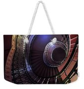 Ornamented Metal Spiral Staircase Weekender Tote Bag