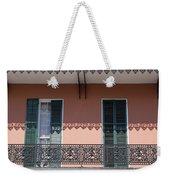 Ornate Balcony In New Orleans Weekender Tote Bag