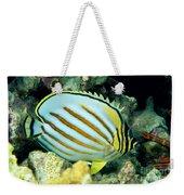 Ornate Butterflyfish Weekender Tote Bag