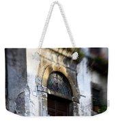 Ornate Italian Doorway Weekender Tote Bag