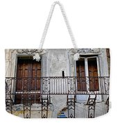 Ornate Weathered Artistic Architecture Weekender Tote Bag