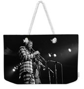 Ornette Coleman On Trumpet Weekender Tote Bag