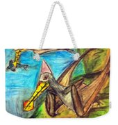 Ornithocheirus By The Sea Weekender Tote Bag