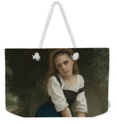 Orphan At The Fountain Weekender Tote Bag