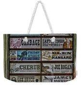 Orpheum Theater Playbill Weekender Tote Bag