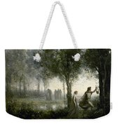 Orpheus Leading Eurydice From The Underworld Weekender Tote Bag