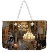 Orthodox Mass Weekender Tote Bag