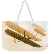 Orville Wright In Wright Flyer 1908 Weekender Tote Bag