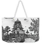 Osaka Castle Weekender Tote Bag