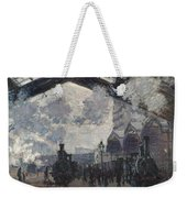 Oscar Monet   The Gare St Lazare Weekender Tote Bag