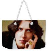 Oscar Wilde, Literary Legend Weekender Tote Bag
