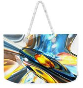 Oscillating Color Abstract Weekender Tote Bag