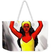 Oshun -goddess Of Love -4 Weekender Tote Bag by Carmen Cordova