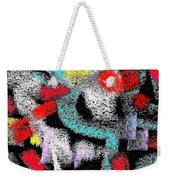 Osile Multicolor Weekender Tote Bag
