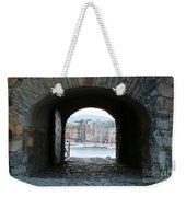 Oslo Castle Archway Weekender Tote Bag by Carol Groenen