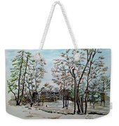 Oslo In Winter Weekender Tote Bag