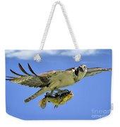 Osprey And Catfish Weekender Tote Bag