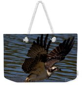 Osprey Catching A Fish Weekender Tote Bag