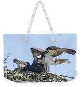 Osprey Family Portrait No. 1 Weekender Tote Bag