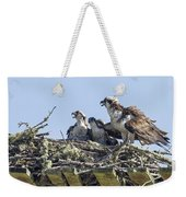 Osprey Family Portrait No. 2 Weekender Tote Bag