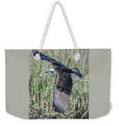 Osprey Flying  Weekender Tote Bag