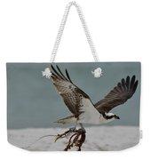 Osprey Flying With Seaweed Weekender Tote Bag