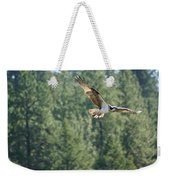 Osprey In Flight 6 Weekender Tote Bag