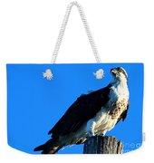 Osprey On A Pole Weekender Tote Bag