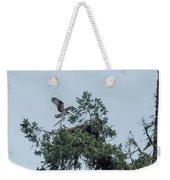 Osprey Reinforcing Its Nest 2017 Weekender Tote Bag
