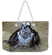 Osprey Splashing In Water Weekender Tote Bag