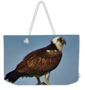 Osprey With His Catch Weekender Tote Bag