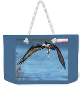 Osprey With Pin Fish Weekender Tote Bag