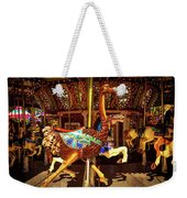 Ostrich Carousel Ride Weekender Tote Bag