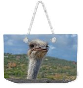 Ostrich Head Weekender Tote Bag