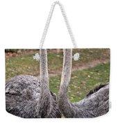 Ostrich Twins 2 Weekender Tote Bag