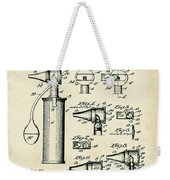 Otoscope Patent 1927 Old Style Weekender Tote Bag