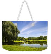 Otsiningo Park Reflection Landscape Weekender Tote Bag