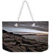 Otter Cliffs Dawn #5 Weekender Tote Bag