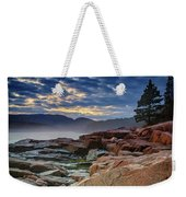 Otter Cove In The Mist Weekender Tote Bag